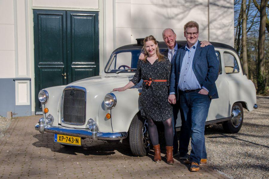 Het team van de Engelse Taxi